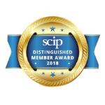 SCIP Distinguished Member Award 2018